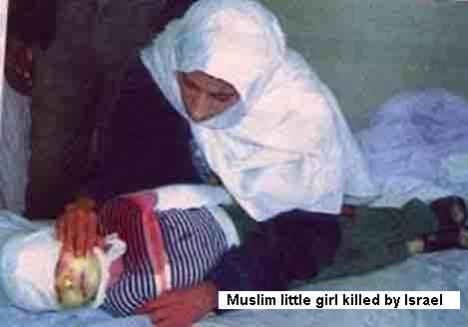 muslimlittlegirlkilledbyisraelsoldiers